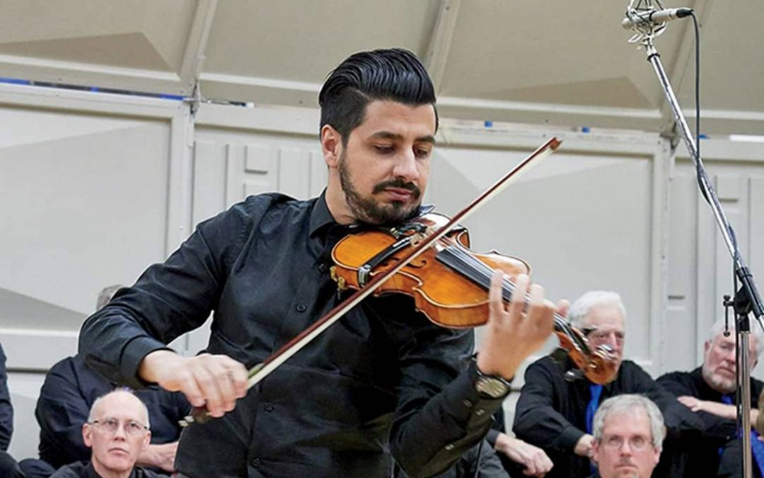 Syrian Violinist Plays With New Band